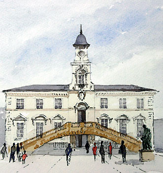 A large picture of Corn Exchange