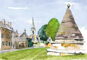 A large picture of Hallaton Village Green