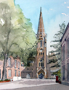 A large picture of Holy Trinity Church, Regent Road