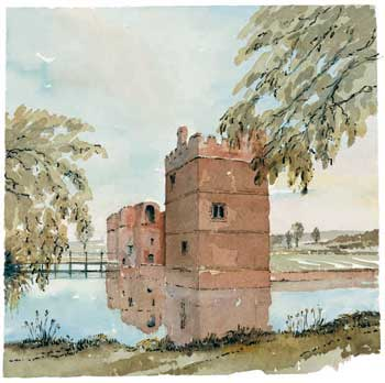 A large picture of Kirby Muxloe Castle