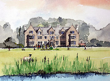 A large picture of Launde Abbey